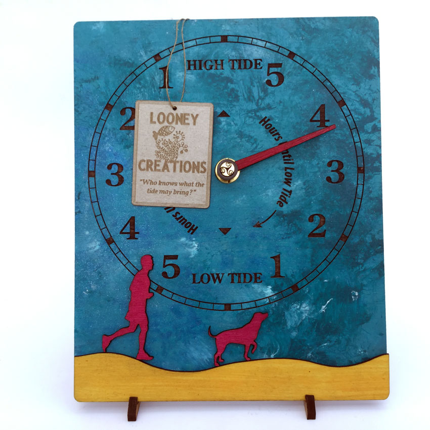 'Walk the Dog' Tide Clock