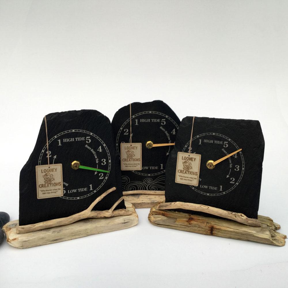 slate tide clocks pack shot