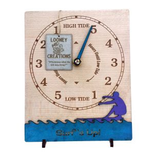 Surfer Tide Clock