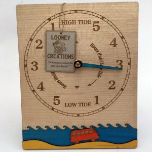 VW camper gift Tide Clock