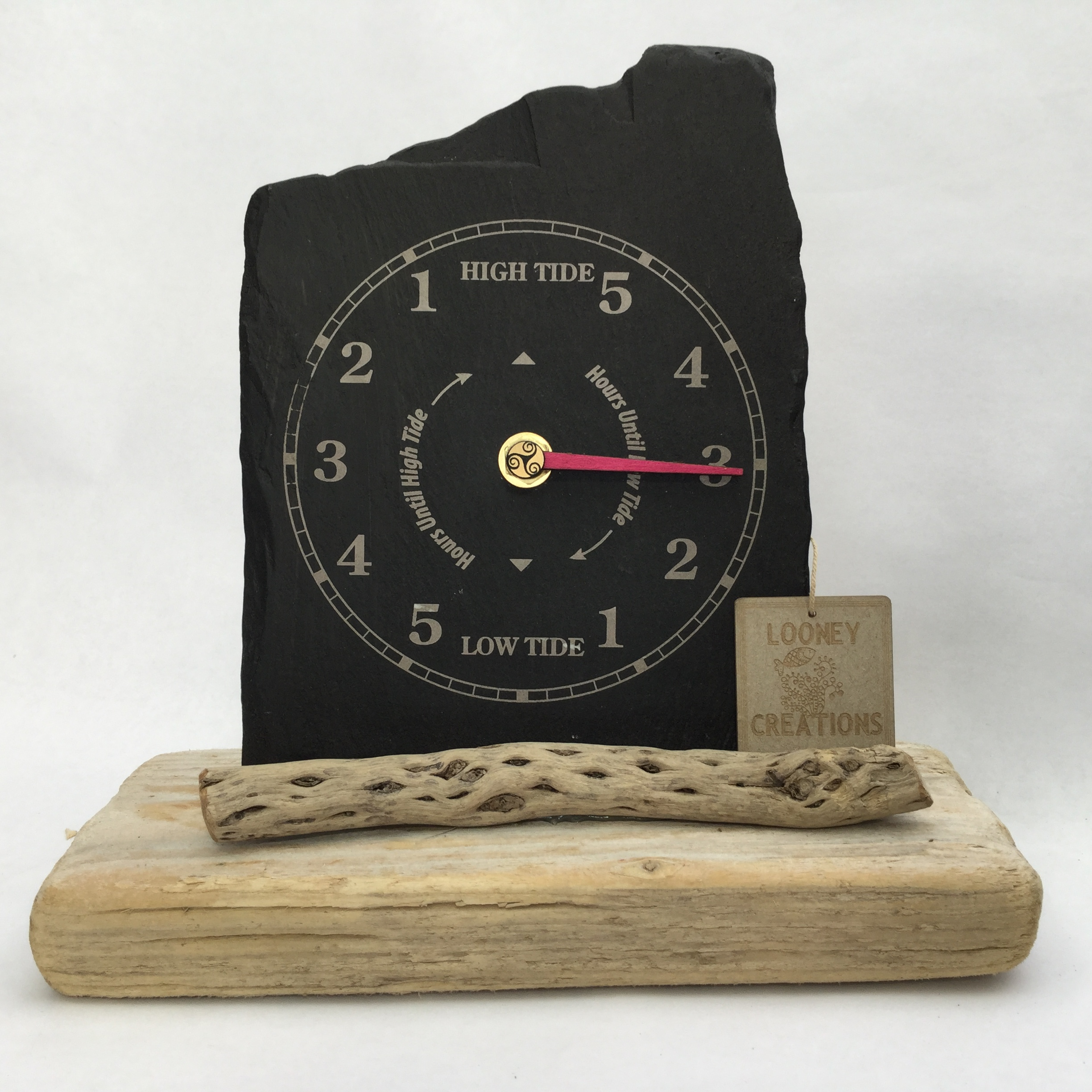 how to set a tide clock