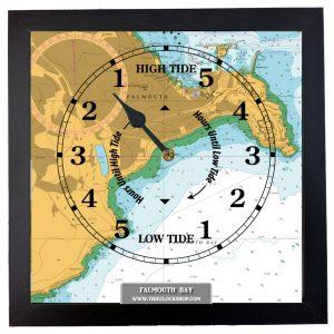 falmouth tide clock