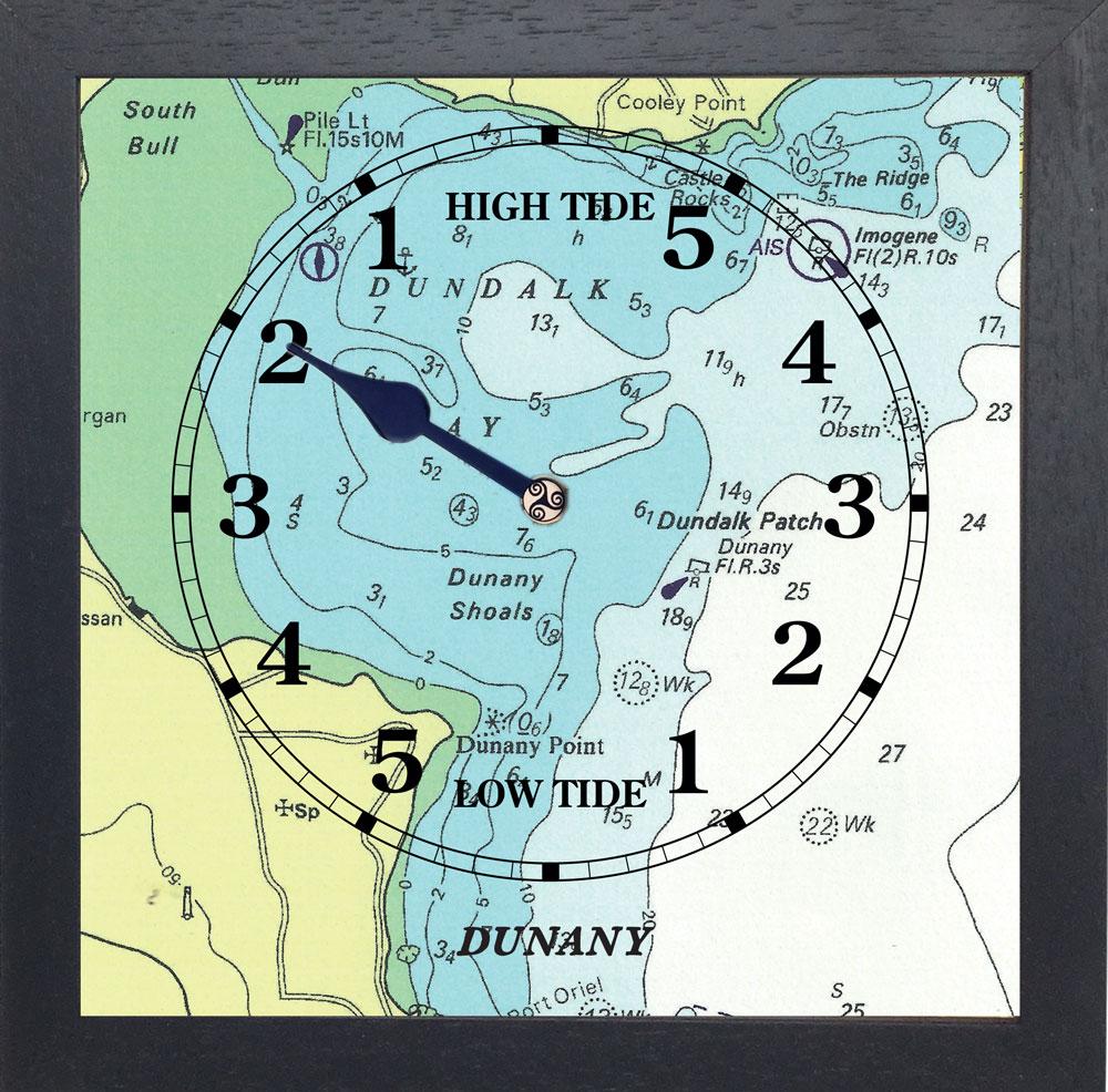 DUNANY tide clock