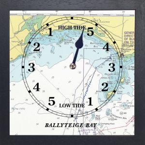 BALLYTEIGE-BAY TIDAL CLOCK