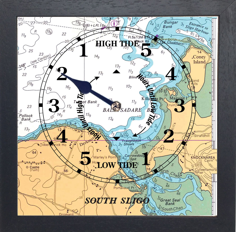 SOUTH SLIGO TIDE CLOCK