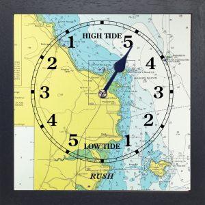 Rush Tide Clock.