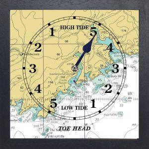 Toe Head Tide Clock